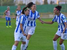 La jugadora cree que su éxito ayudará a otras futbolistas de la cantera. SportingHuelva