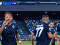 Immobile has gone level with Higuain and scored 36 goals in a Serie A season. Captura/Vamos