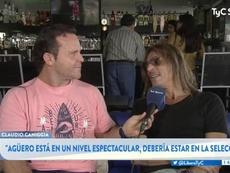 Caniggia habla de güero y Maradona. TyCSports