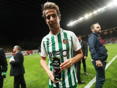 Coentrao fue 'MVP' del partido. Twitter/ligaportugal