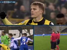 El VAR puso patas arriba el Heerenveen-Vitesse. KNVB