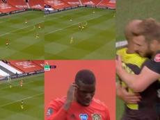 El United se repuso como nadie esperaba a este revés. DAZN