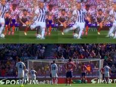 Sandro pisó, el césped se movió y el balón se alzó. Movistar+