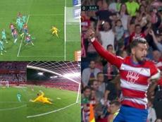Vidal hizo penalti por mano, Vadillo lo convirtió. Movistar+