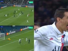 Di María también hizo el 2-0. Movistar+