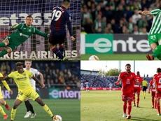 Le onze révélation de Liga selon l'UEFA. AFP/EFE