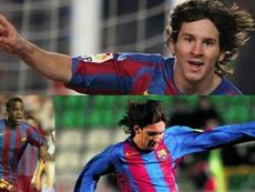 Ludovic Sylvestre se confie sur Leo Messi. EFE