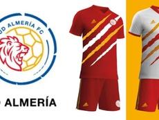 Almeria change radicalement !. Twitter/U_D_Almeria