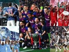 Nada novo nas cinco grandes ligas da Europa. EFE/AFP