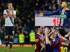 Kane, Mbappé y Messi son de los más jóvenes en haber sido 'Pichichis'. AFP/EFE