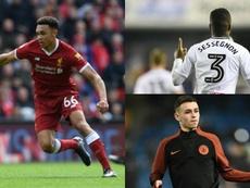 Jovens que podem conquistar a glória. AFP/FulhamFC