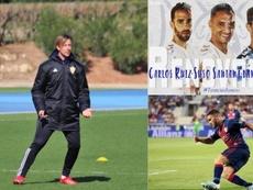 La actualidad de la Segunda División Española. Twitter/UDAlmeria/CDTenerife/SDHuesca