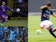 El fútbol no siempre entiende de edades. AFP/YokohamaFC