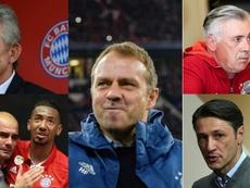 O técnico que superou Pep Guardiola, Ancelotti, Haynckes e Kovac. EFE/AFP