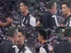 Cristiano Ronaldo n'a pas trop apprécié de sortir contre Tottenham. CIDiretta