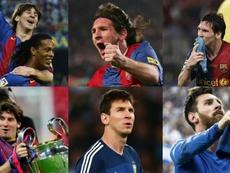 Messi, 16 temporadas al pie del cañón. EFE/AFP/Agencias