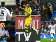 Os 10 jogadores mais valiosos nascidos a partir do ano 2000. AFP