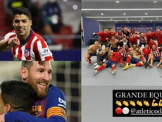 Luis Suárez lo celebró. EFE/LuisSuarez9