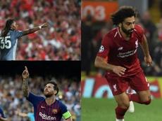 ¿Cuál de los tres hincará antes la rodilla? . EFE/AFP