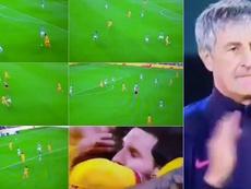 De Jong's goal was absolutely perfect. Capturas/MovistarLaLiga