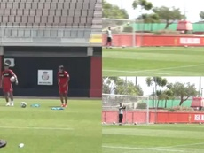 Luka Romero volvió a demostrar por qué le comparan con Messi. RCDMallorca