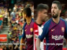 Luis Suárez acabó, como el Barça, desquiciado ante el Athletic. Movistar+