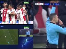 De la alegría a la frustración en dos minutos y medio. Futbol1