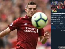 Robertson cerró su Twitter por amenazas de muerte. Collage/AFP/Twitter