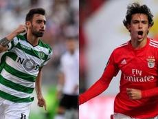 João Félix e Bruno Fernandes são os grandes nomes portugueses no mercado. Maisfutebol/AFP