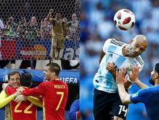 Varios históricos copan las primeras posiciones. AFP