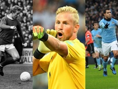 Tevez, Schmeichel and Law are three who have crossed the divide. AFP