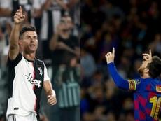 Los goleadores en activo más prolíficos. AFP/EFE