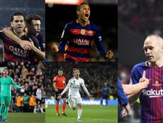 El mejor XI de la década, cortesía de ProFootballDB. EFE/AFP