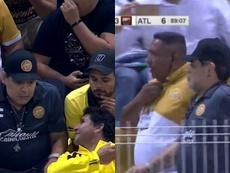 Dorados marcha último tras la derrota abultada ante Atlante. Captura/ESPN
