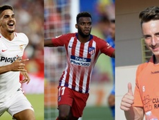 Fernando Calero, Thomas Lemar e André Silva estão na disputa. EFE/AFP