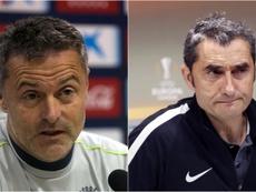 Los técnicos del Villarreal y el Athletic tienen al joven en su agenda. EFE/Archivo