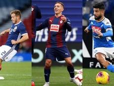 I giocatori più bassi dei grandi campionati europei. EFE/SSCNapoli