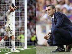 Des moments difficiles pour les deux colosses. AFP/EFE/BeSoccer