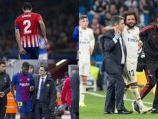 Les trois clubs espagnols en difficulté. Besoccer