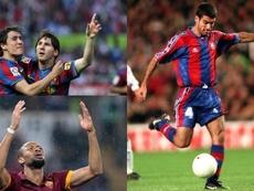 Bojan, Guardiola y Keita vistieron ambas camisetas. BeSoccer