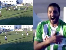 Güiza anotó un gol de libre directo. Captura/Footers
