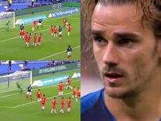 Connexion culé au Stade de France. Capture/beINSports