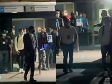 Arthur est arrivé à Turin pour sa visite médicale. Capture/Goal