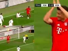 El Bayern ayudó al Kaiserslautern. Captura
