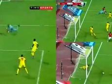 Salah dio dos asistencias y dejó unas acciones maravillosas. Captura/TimeSports