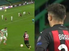 Brahim marcó un golazo. Captura