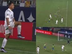 Chicharito se reencontró con el gol. Captura/MLS