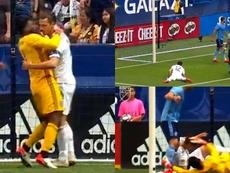 Ibrahimovic, sancionado con dos partidos. Captura