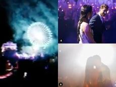 Ramos y Pilar Rubio celebraron por todo lo alto su matrimonio. Instagram/SergioRamos
