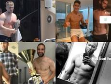 I giocatori rispondono sui social alle critiche per il peso. Collage/Instagram